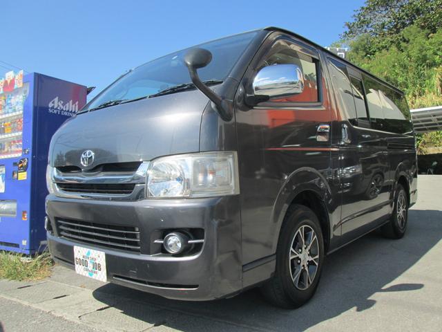 沖縄県豊見城市の中古車ならハイエースバン ロングスーパーGL 3.0ディーゼルターボ Wエアコン