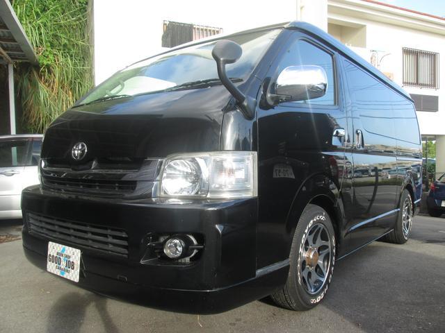 沖縄の中古車 トヨタ ハイエースワゴン 車両価格 148万円 リ済込 2009(平成21)年 14.5万km 209ブラックM