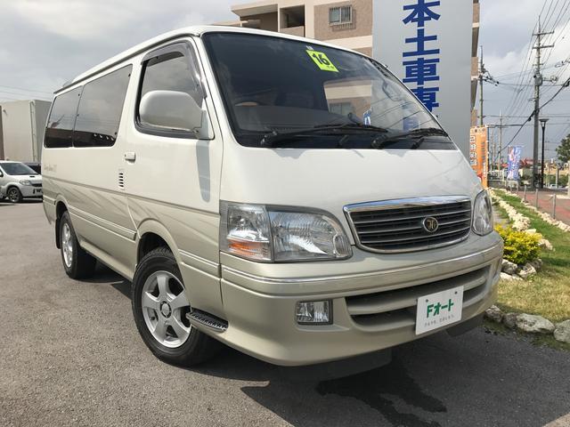 沖縄の中古車 トヨタ ハイエースワゴン 車両価格 ASK リ済込 平成16年 18.0万km スプリームパールトーニングII