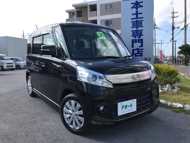 沖縄県の中古車ならスペーシアカスタム XS レーダーブレーキサポート ナビ フルセグTV ETC