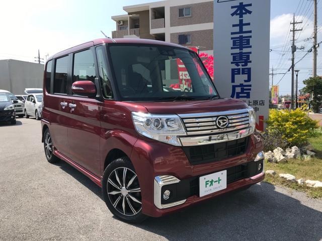 沖縄県の中古車ならタント カスタムX SAIII 新品15インチアルミホイール&タイヤ