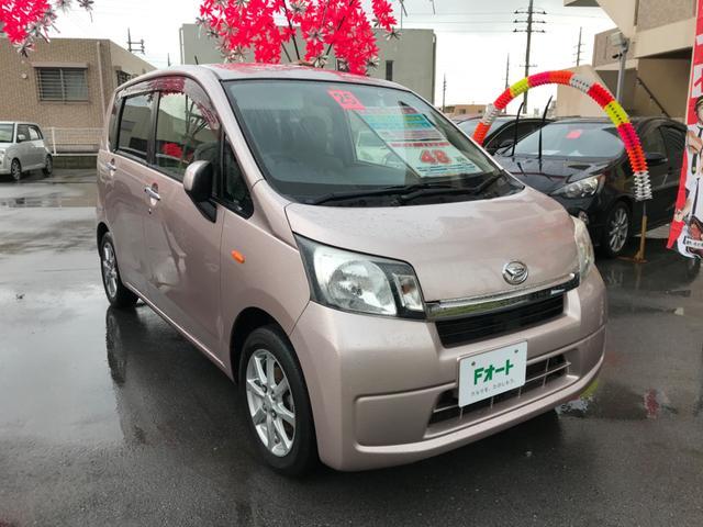 沖縄県中頭郡中城村の中古車ならムーヴ X 本土無事故車 ナビ フルセグTV Bluetooth