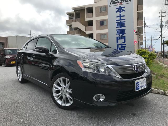 沖縄の中古車 レクサス HS 車両価格 98万円 リ済込 2010(平成22)年 9.7万km ブラックM