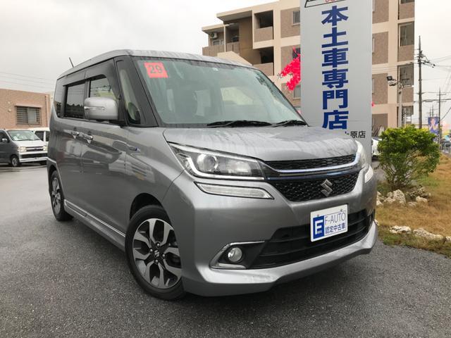 沖縄県の中古車ならソリオバンディット ハイブリッドSV デュエルカメラブレーキサポート 全方位モニター Bluetooth