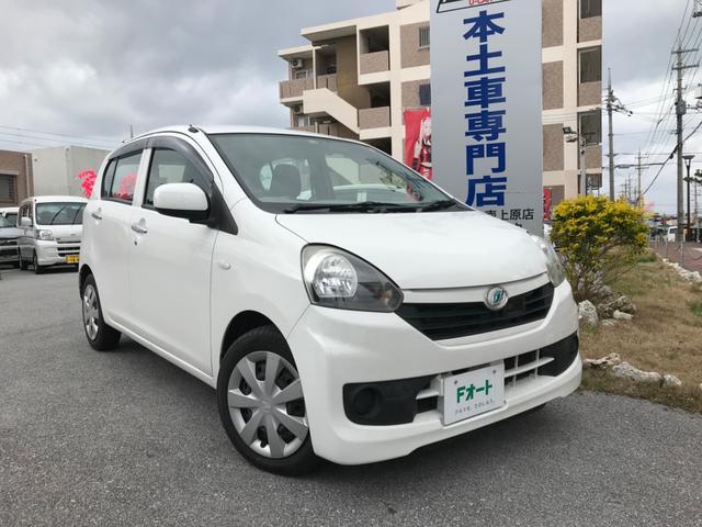 沖縄の中古車 ダイハツ ミライース 車両価格 38万円 リ済込 2013(平成25)年 7.2万km ホワイト