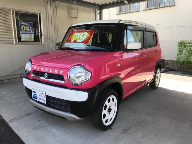 沖縄県の中古車ならハスラー G 本土中古車 レーダーブレーキサポート ナビ フルセグTV Bluetooth 新品日本製前後ドライブレコーダー 新品オプションホワイトエンブレム スマートキー