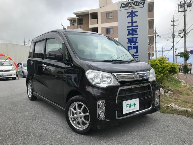 沖縄県の中古車ならタントエグゼ カスタムG 本土無事故車 1オーナー ナビ フルセグTV Bluetooth ETC バックカメラ スマートキー