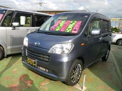 沖縄の中古車 ダイハツ タントエグゼ 車両価格 64万円 リ済込 平成22年 7.8万K グレー