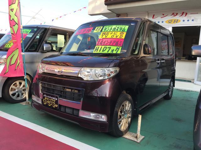 沖縄県の中古車ならタント カスタムXリミテッド 社外アルミ
