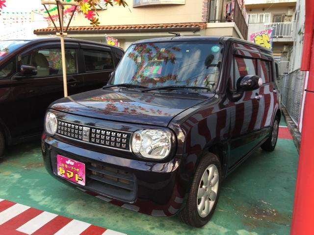 沖縄の中古車 スズキ アルトラパン 車両価格 67万円 リ済込 平成25年 8.2万km ミステリアスバイオレットパール