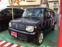 沖縄の中古車 スズキ アルトラパン 車両価格 67万円 リ済込 平成25年 8.2万K ミステリアスバイオレットパール