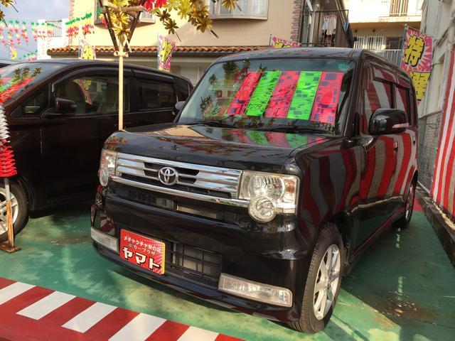 沖縄の中古車 トヨタ ピクシススペース 車両価格 74万円 リ済込 平成23年 5.9万km ブラックマイカメタリック