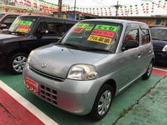 沖縄の中古車 ダイハツ エッセ 車両価格 47万円 リ済込 平成22年 6.3万K シルバー