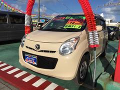 沖縄の中古車 マツダ キャロル 車両価格 38万円 リ済込 平成24年 7.8万K ベージュ