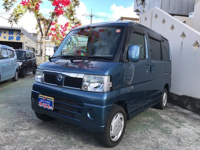 沖縄の中古車 日産 クリッパーリオ 車両価格 44万円 リ済込 平成21年 7.1万km ブルー