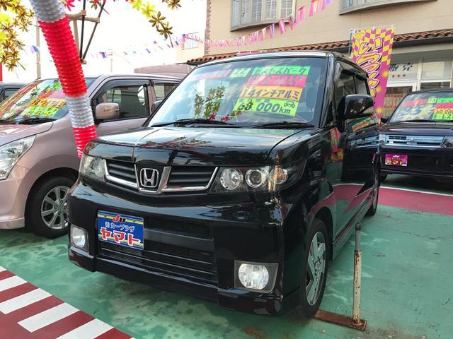 沖縄の中古車 ホンダ ゼストスパーク 車両価格 58万円 リ済込 平成22年 6.8万km ブラック