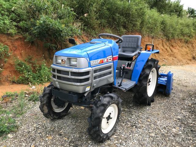 沖縄県の中古車なら日本 ISEKI TM15 農用トラクタ 15馬力
