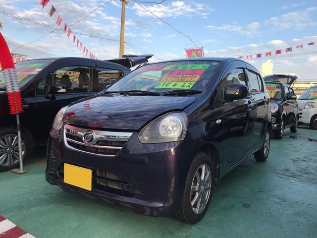 沖縄の中古車 ダイハツ ミライース 車両価格 44万円 リ済込 平成24年 9.1万km 紺