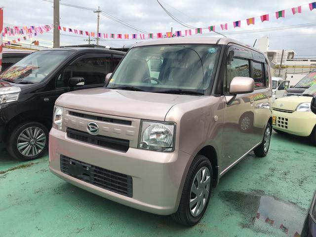沖縄の中古車 ダイハツ ムーヴコンテ 車両価格 57万円 リ済込 平成24年 7.3万km ピンク