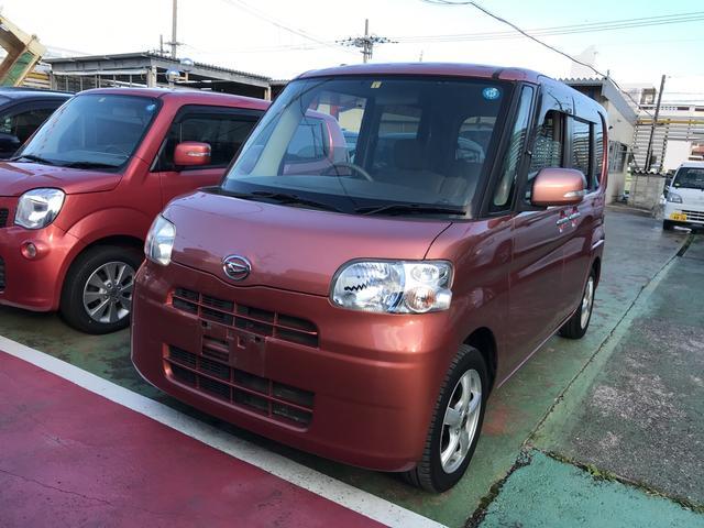 沖縄の中古車 ダイハツ タント 車両価格 58万円 リ済込 2010(平成22)年 8.3万km ピンク