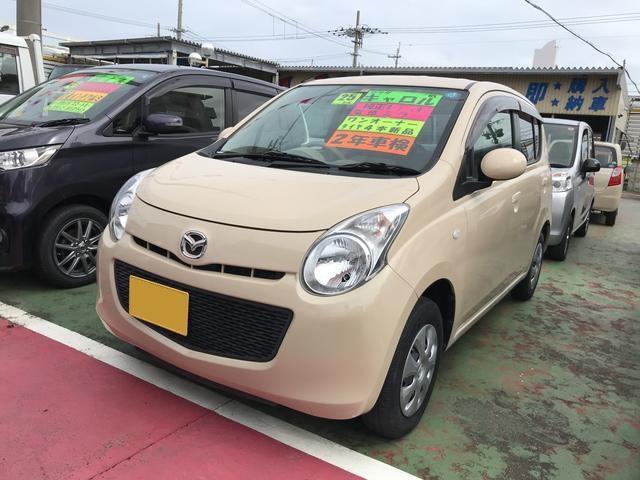 沖縄の中古車 マツダ キャロル 車両価格 48万円 リ済込 平成25年 7.0万km ベージュM