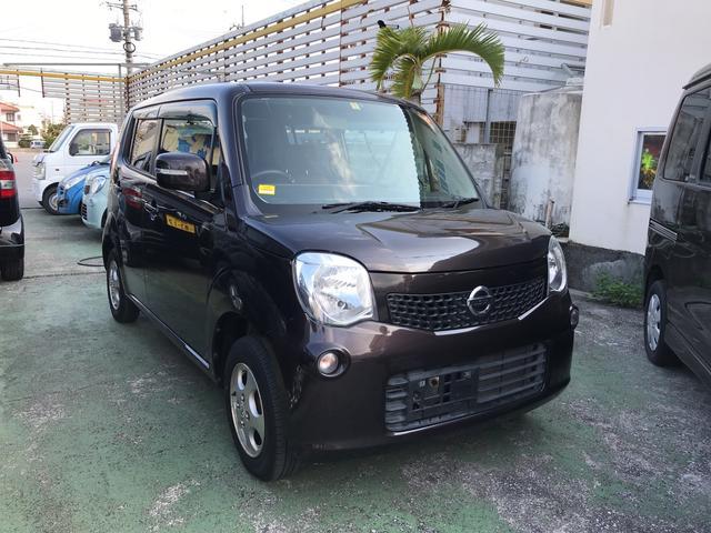 沖縄の中古車 日産 モコ 車両価格 68万円 リ済込 平成25年 8.5万km ブラウン
