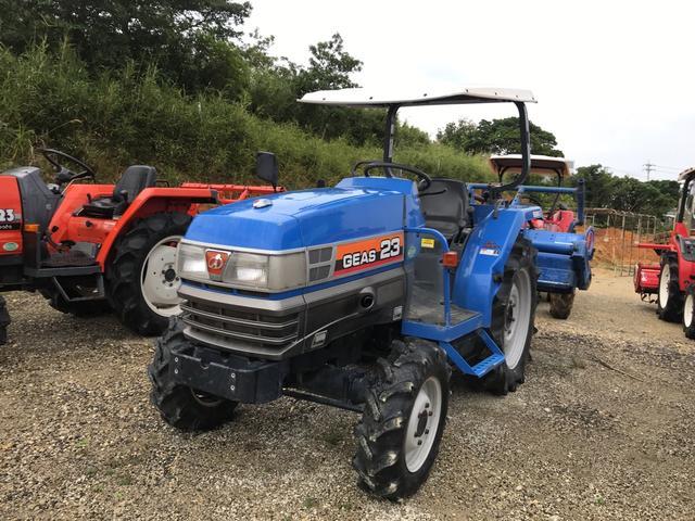 沖縄県の中古車なら日本 ISEKI GEAS23 農用トラクタ 23馬力
