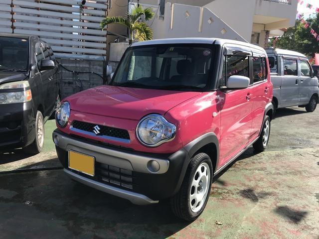 沖縄県うるま市の中古車ならハスラー Gターボ