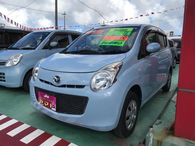 沖縄の中古車 マツダ キャロル 車両価格 47万円 リ済込 2012(平成24)年 5.1万km ライトブルー