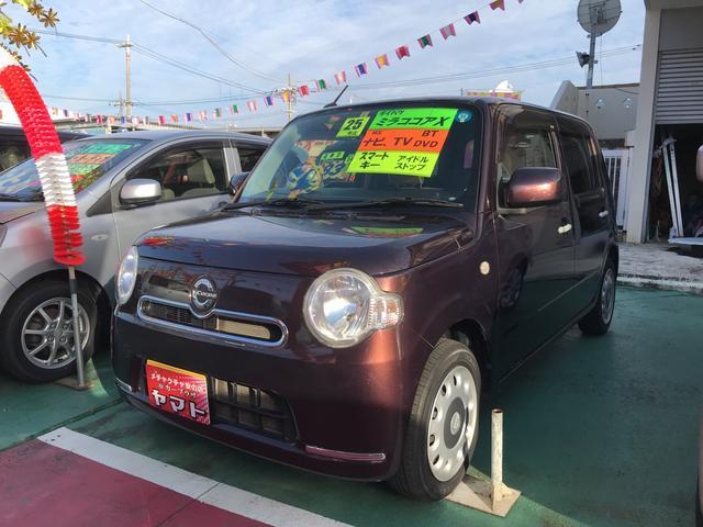 沖縄の中古車 ダイハツ ミラココア 車両価格 54万円 リ済込 2013(平成25)年 10.1万km ブラウン