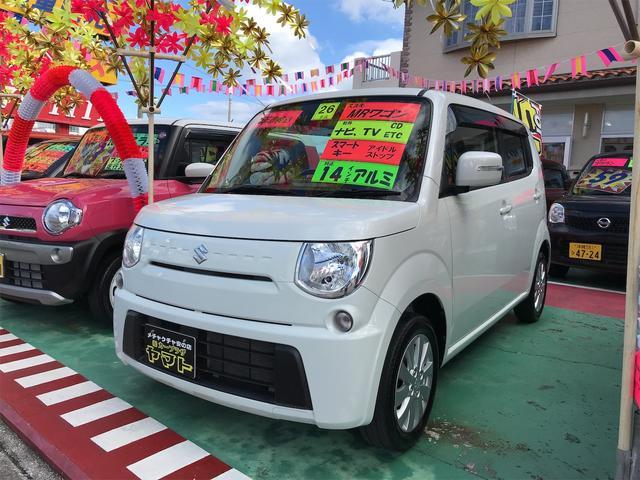 沖縄の中古車 スズキ MRワゴン 車両価格 57万円 リ済込 2014(平成26)年 9.2万km パールホワイト