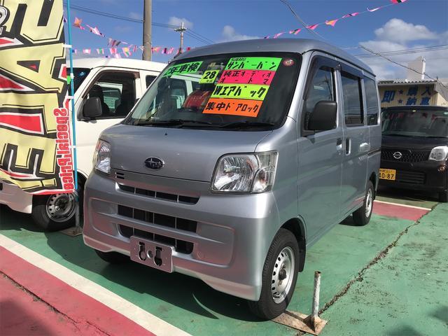 沖縄の中古車 スバル サンバーバン 車両価格 64万円 リ済込 2016(平成28)年 11.0万km シルバー