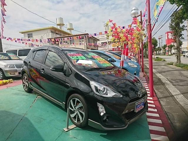 沖縄県の中古車ならアクア X-アーバン ワンオーナー
