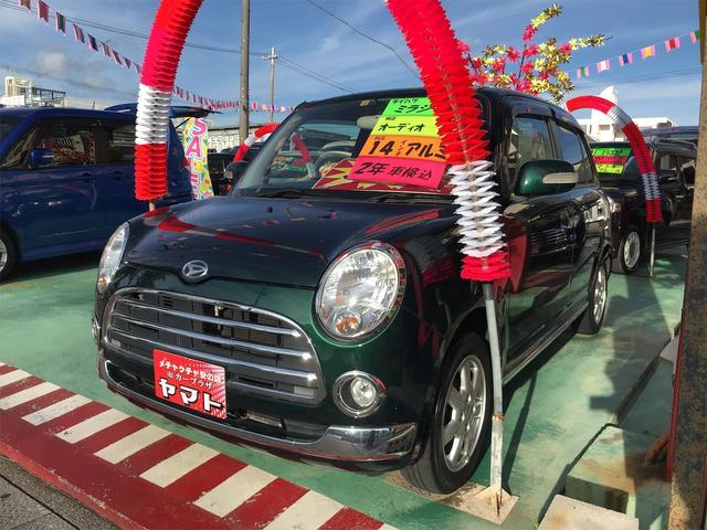 沖縄の中古車 ダイハツ ミラジーノ 車両価格 37万円 リ済込 2008(平成20)年 12.3万km グリーン