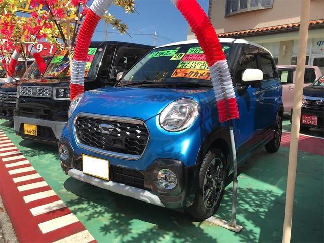 沖縄の中古車 ダイハツ キャスト 車両価格 104万円 リ済込 2016(平成28)年 8.3万km ブルー