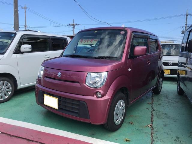 沖縄の中古車 スズキ MRワゴン 車両価格 54万円 リ済込 2012(平成24)年 9.0万km ピンク