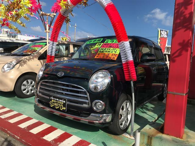 沖縄の中古車 ダイハツ ミラジーノ 車両価格 38万円 リ済込 2008(平成20)年 10.9万km グリーン