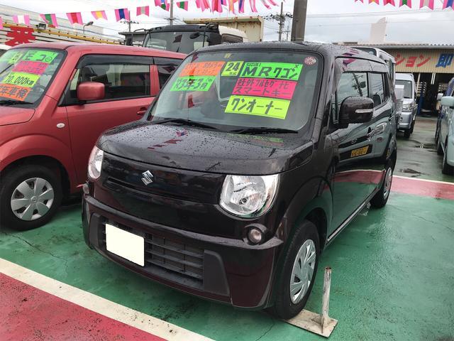 沖縄の中古車 スズキ MRワゴン 車両価格 57万円 リ済込 2012(平成24)年 8.6万km ブラウン
