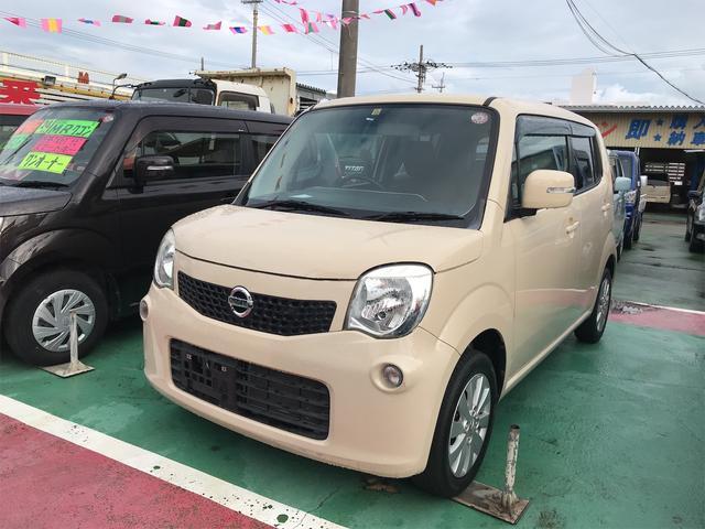 沖縄の中古車 日産 モコ 車両価格 68万円 リ済込 2013(平成25)年 5.6万km ベージュ