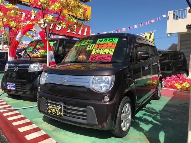 沖縄の中古車 スズキ MRワゴン 車両価格 58万円 リ済込 2012(平成24)年 8.5万km ブラウン