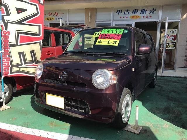 沖縄の中古車 ダイハツ ミラココア 車両価格 58万円 リ済込 2012(平成24)年 9.5万km ブラウン