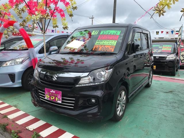 沖縄の中古車 スズキ ソリオバンディット 車両価格 88万円 リ済込 2015(平成27)年 6.8万km ブラック