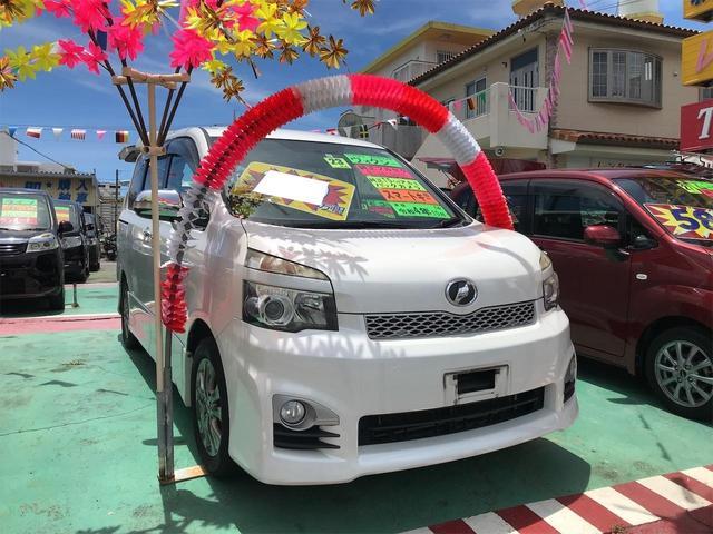 沖縄の中古車 トヨタ ヴォクシー 車両価格 84万円 リ済込 2011(平成23)年 11.3万km パールホワイト