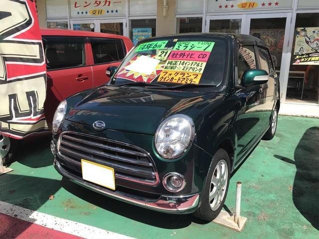 沖縄の中古車 ダイハツ ミラジーノ 車両価格 54万円 リ済込 2009(平成21)年 9.2万km グリーン