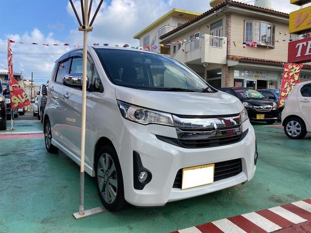 沖縄県の中古車ならeKカスタム T
