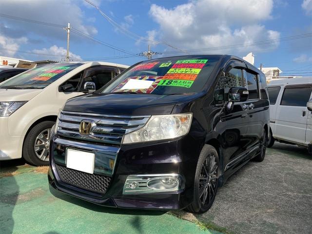 沖縄県うるま市の中古車ならステップワゴンスパーダ S