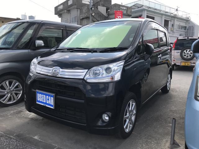 沖縄の中古車 ダイハツ ムーヴ 車両価格 55万円 リ済込 平成24年 9.3万km ブラック