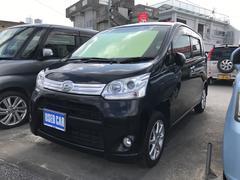 沖縄の中古車 ダイハツ ムーヴ 車両価格 55万円 リ済込 平成24年 9.3万K ブラック