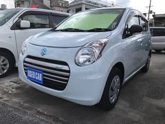 沖縄の中古車 スズキ アルトエコ 車両価格 41万円 リ済込 平成25年 4.4万K ライトブルー