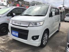 沖縄の中古車 スズキ ワゴンRスティングレー 車両価格 39万円 リ済込 平成21年 10.3万K パール